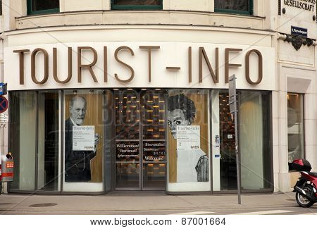 Tourist Office In Vienna, Austria