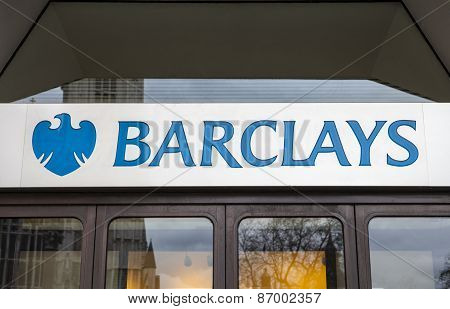 Sign For Barclays Bank