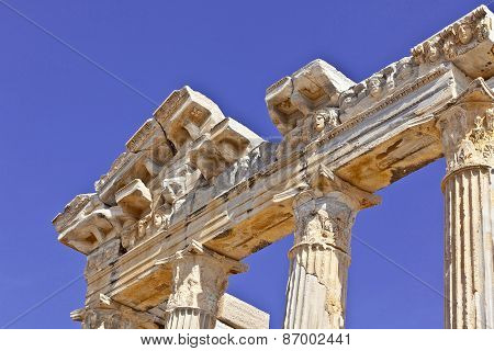 Temple of Apollo in Side, Turkey.