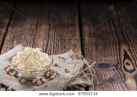 Heap Of Chick Pea Flour