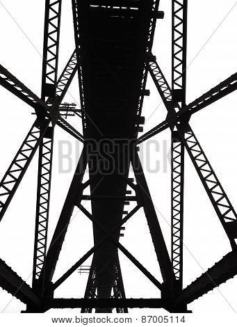 Old Bridge Silhoulette