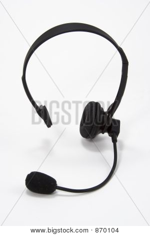 Telephone Operator Headset