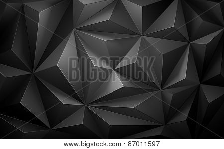 Abstract geometric background gray color.  Vector illustration