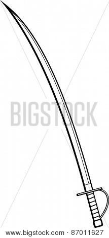 sabre sword