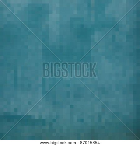 Blue Square Pixel Gradient Grunge Light Effect
