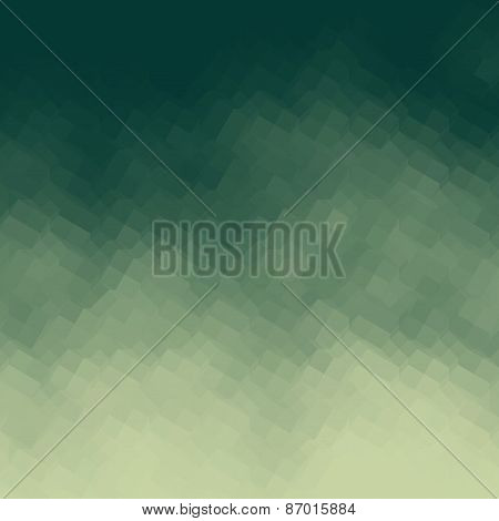 Green Gradient Geometric Light Effect