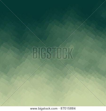 Green Gradient Geometric Light Effect