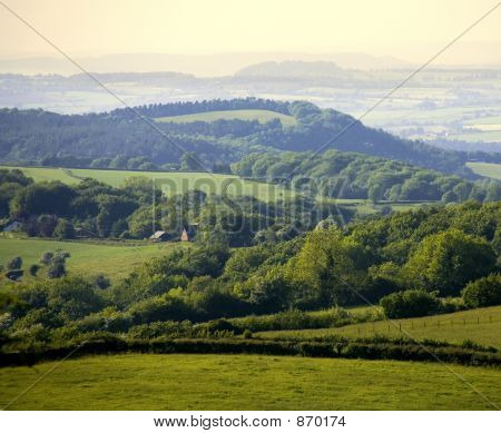 england gloucestershire the forest of dean as seen from ruardean
