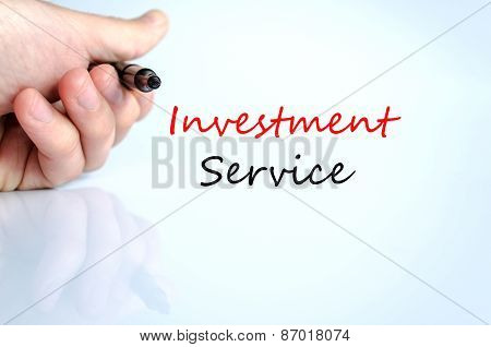 Text Concept Investment Service