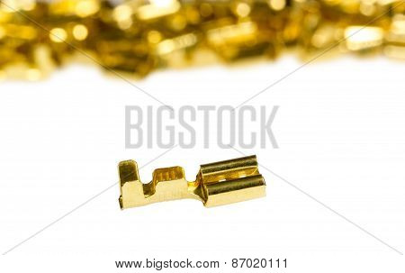 Electrical Component Bronze Cable Terminal Connector