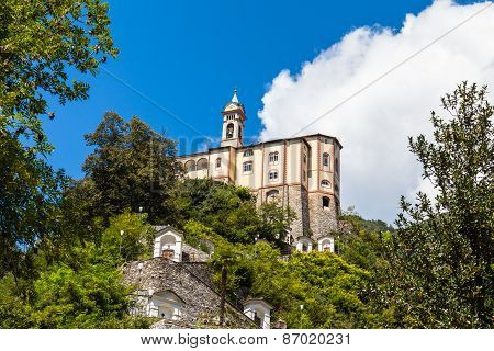 Madonna Del Sasso Pilgrimage Church