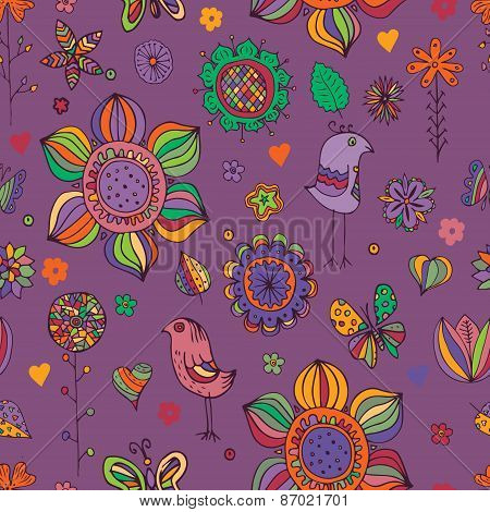 Doodle Seamless Pattern