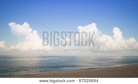 Tropical Beach And Blue Sky