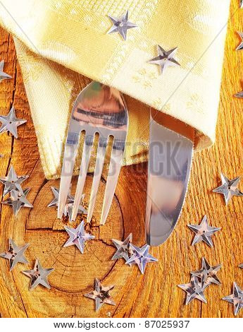 flatware for your holiday table