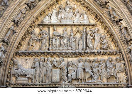 Paris Notre Dame Cathedral.