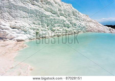 Mineral Springs Of Turkey, Pamukkale