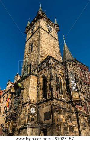 The Astronomical Clock In Prague