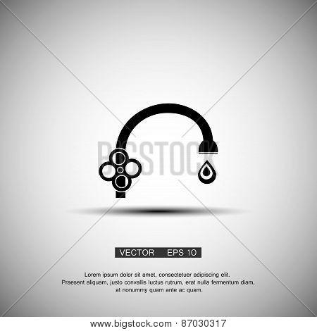 Vector water tap