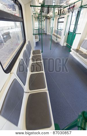 New Subway Train From The Inside