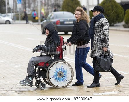 Physical Impairment (disabled) People Protest