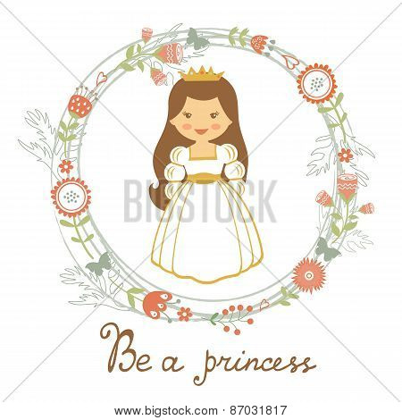 Be a princess card