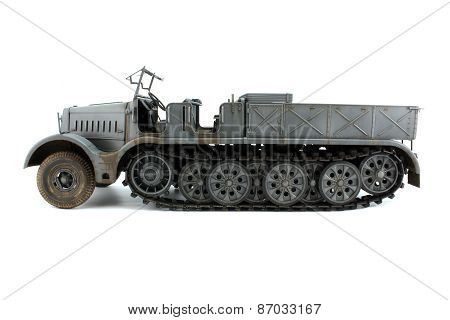 Model Half-track View Strictly Side