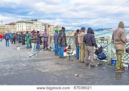 The Fishing In Istanbul