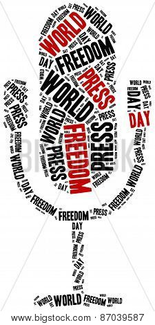 World Press Freedom Day. Celebrated On 1St May.