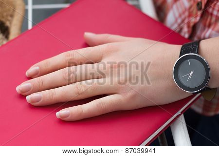 Woman Hand With A Watch