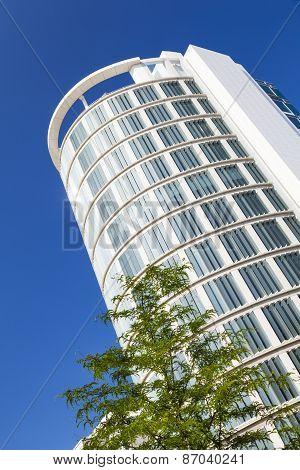 Modern Building In Hamburg, Germany