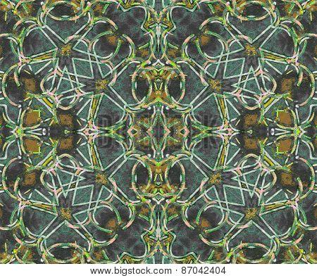 Futuristic Seamless Abstract Pattern