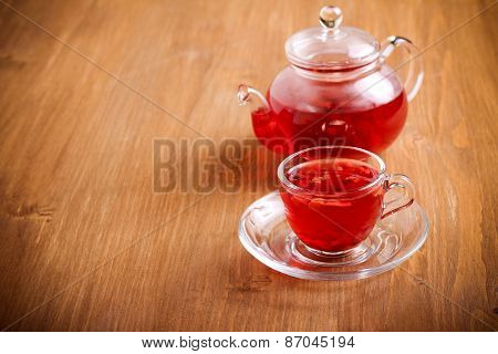 Red Herbal And Fruit Tea