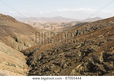 Fuerteventura Mountains