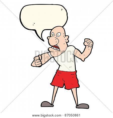 cartoon hooligan