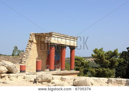 Reconstruction Of The Minoan Palace