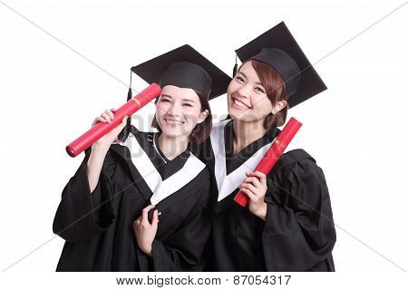 Happy Graduates Students