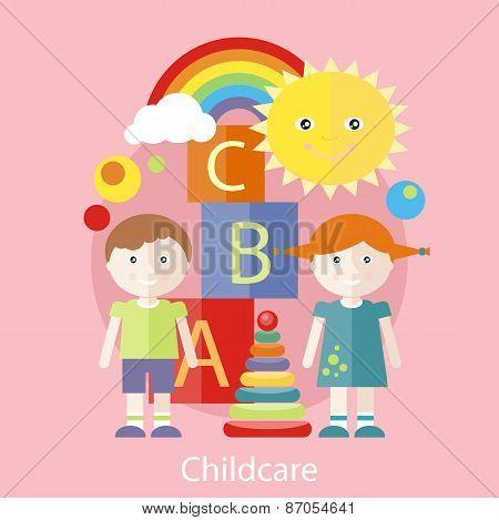Childcare concept
