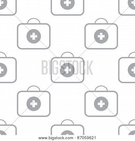 New Medic bag seamless pattern