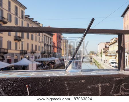 Naviglio Grande Milan