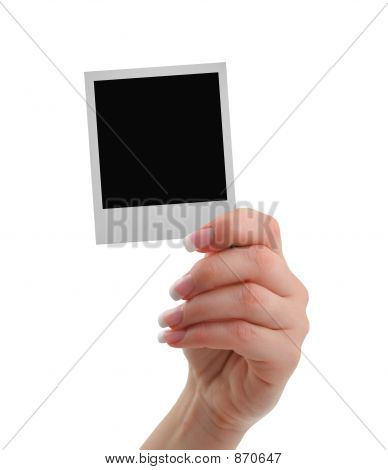 Hand With Frame