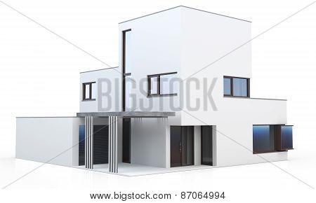 3D Generic Modern House