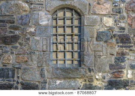 Architectural Detail Of Bergenhus Fortress In Bergen, Norway