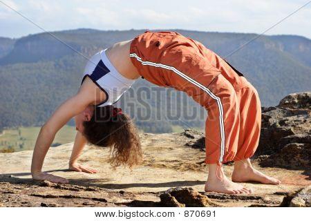 Mountain yoga 3