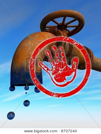 Stop oil production