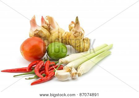 Mix Vegetable In Basket
