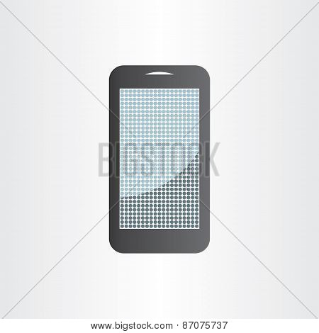 Android Mobile Phone Design Element Tablet Icon