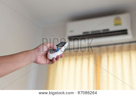 Hand With Remote