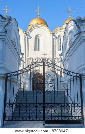 Assumption Cathedral, Vladimir Shot Close-up