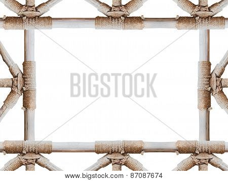 Rope Circle And Joint The Pole