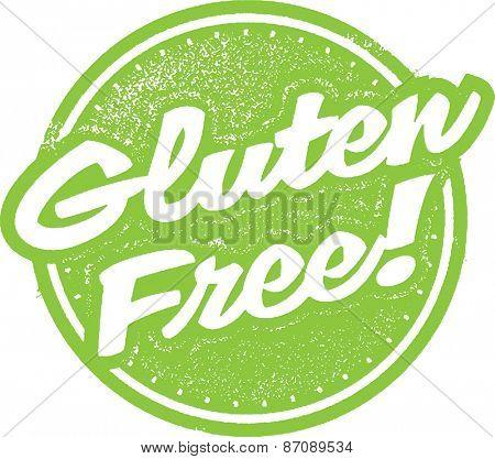 Gluten Free Food Stamp Design